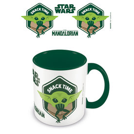 Star Wars The Mandalorian Snack Time Coloured Mug