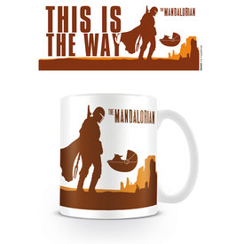 Star Wars The Mandalorian This Is The Way Mug