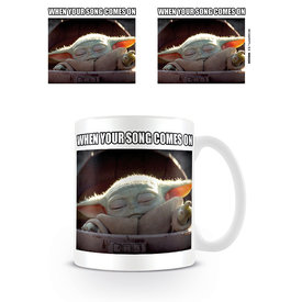 Star Wars The Mandalorian When Your Song Comes On Mug