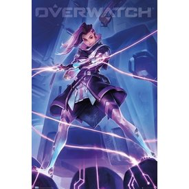 Overwatch Sombra Maxi Poster