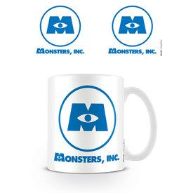Pixar Monsters Inc Logo Mug