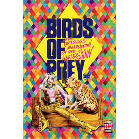 Birds of Prey Harley's Hyena Maxi Poster