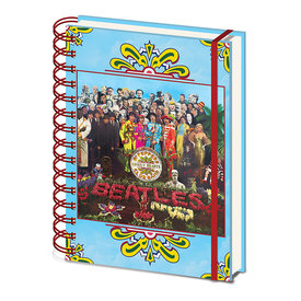 The Beatles SGT. Peppers Lonley Hearts A5 Notebook
