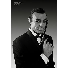 James Bond Connery Tuxedo Maxi Poster