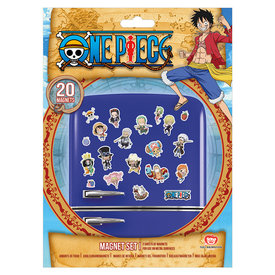 One Piece Chibi  Aimants de Frigo