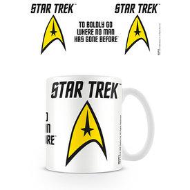 Star Trek To Boldly Go Mug