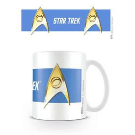 Star Trek Sciences Blue Mug