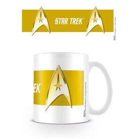 Star Trek Command Gold Mug