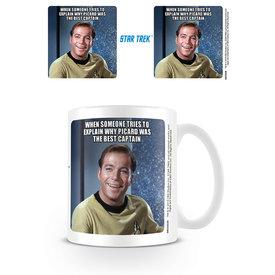 Star Trek Kirk Laughing Mug