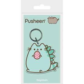 Pusheenosaurus Keyring