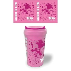 Trolls World Tour Music Is Life Eco Travel Mug