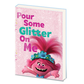 Trolls World Tour Pour Some Glitter A5 PVC Notebook