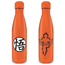 Dragon Ball Z Goku Kanji Gourdes en Métal