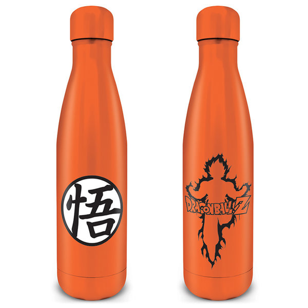 Dragon Ball Z Goku Kanji Metal Drink Bottle
