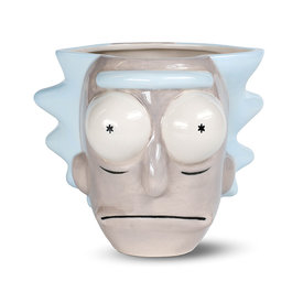 Rick and Morty Rick Head 3D Shaped Mug