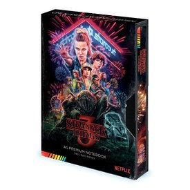 Stranger Things Season 3 VHS Premium A5 Notitieboek