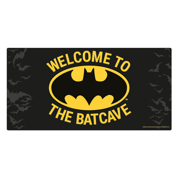 Batman Welcome To The Batcave Metal Sign