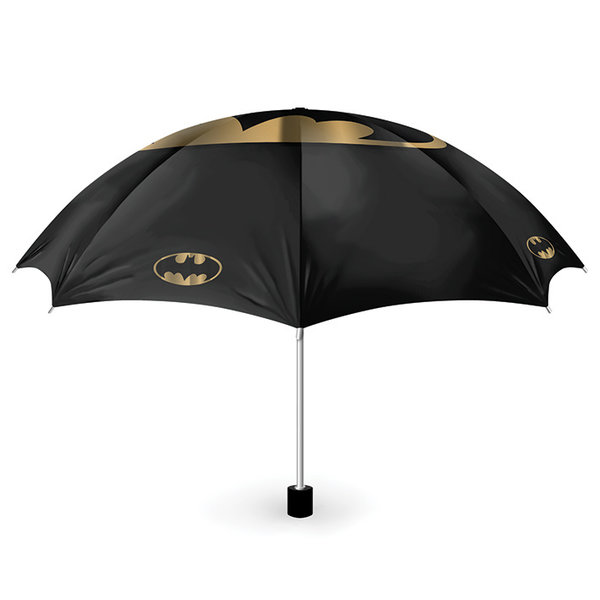 Batman Bat and Gold  Umbrella