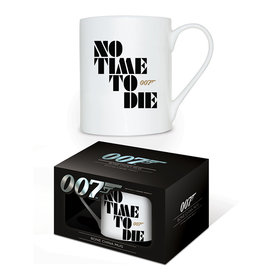 James Bond No Time To Die Bone China Mug