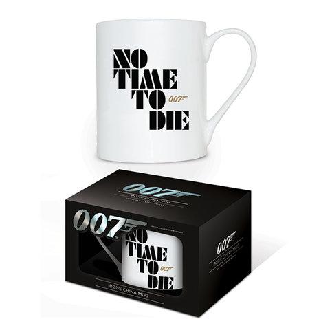 James Bond No Time To Die Bone China Mug