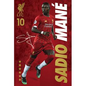 Liverpool FC Sadio Mane Maxi Poster