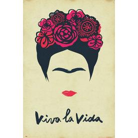 Frida Kahlo Viva La Vida Maxi Poster