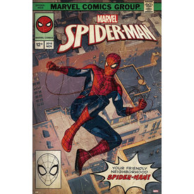 Marvel Spider-Man Comic Front Maxi Poster