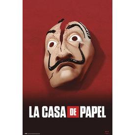 La Casa De Papel Mask Maxi Poster