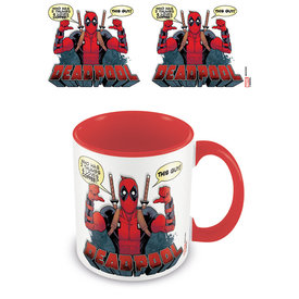 Deadpool 2 Thumbs Coloured Mug