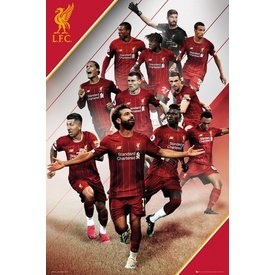 Liverpool Players 19-20 Maxi Poster