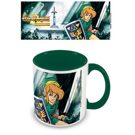 The Legend Of Zelda The Lost Woods Coloured Mug