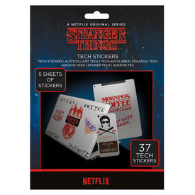 Stranger Things The Upside Down Tech Stickers