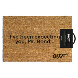 James Bond I've Been Expecting You Doormat