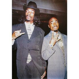 Snoop Dogg and Tupac Maxi Poster
