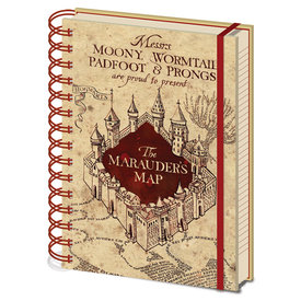 Harry Potter The Marauders Map A5 Notitieboek