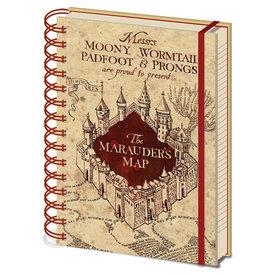 Harry Potter The Marauders Map Cahier de note A5