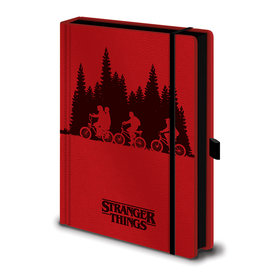 Stranger Things Upside Premium A5 Notebook