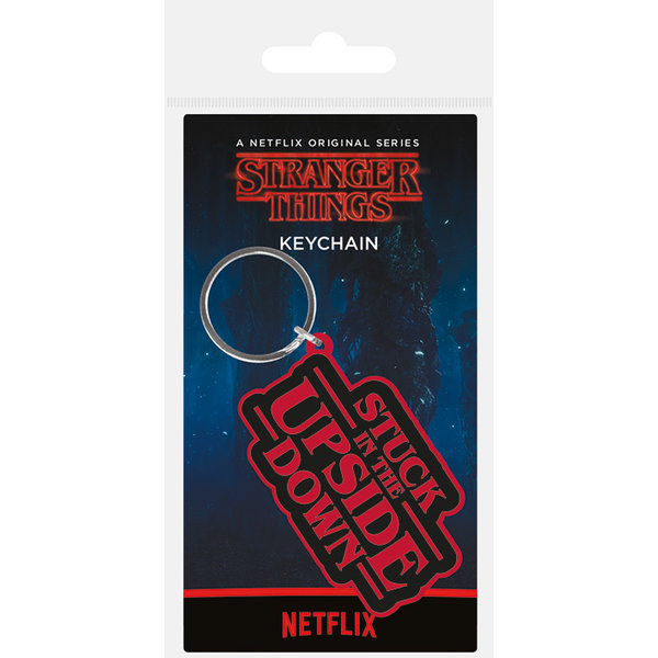 Stranger Things Stuck In The Upside Down Porte-clé