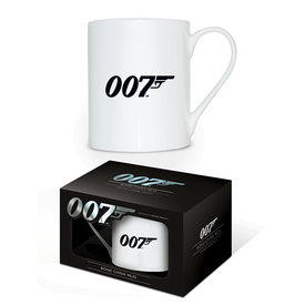 James Bond 007 Logo Bone China Mok