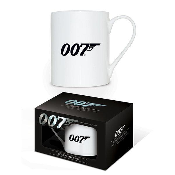 James Bond 007 Logo Bone China Mok