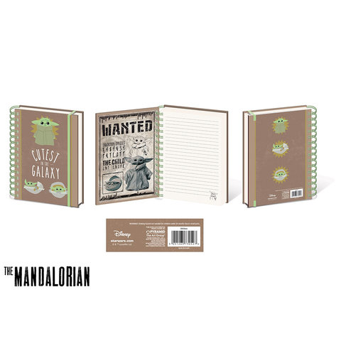 The Mandalorian The Child Cutest In The Galaxy Cahier de note A5