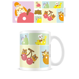 Animal Crossing Character Grid Mug