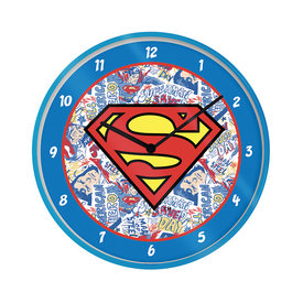 "Superman Logo 10"" Wandklok"