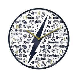 "Harry Potter Infographic 10"" Wall Clock"