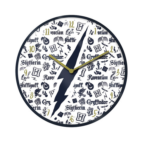 """Harry Potter Infographic 10"""" Wall Clock"""