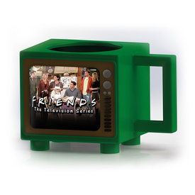 Friends Rather Be Watching Retro TV Heat Change Mug