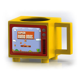 Nintendo Super Mario Like A Boss Retro TV Heat Change Mok