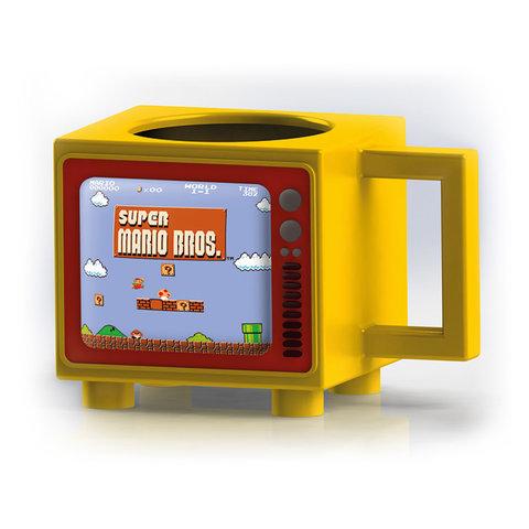 Nintendo Super Mario Like A Boss Retro TV Heat Change Mug