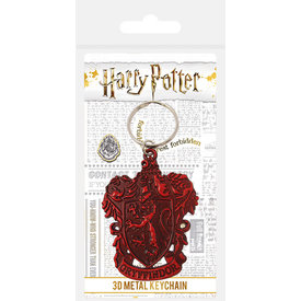 Harry Potter Gryffindor Crest Metal Keyring