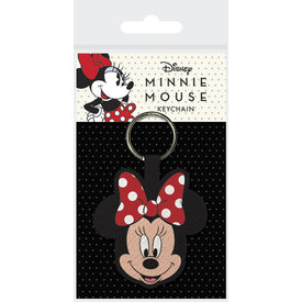 Minnie Mouse Woven Keyring